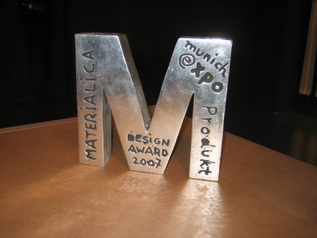 MATERIALICA Trophy: Best Product Award 2007